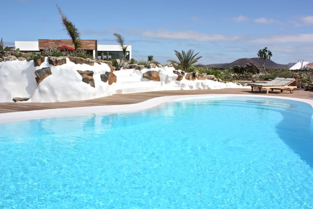 Ferienhaus finca mit pool bei cotillo auf fuerteventura for Pool design ventura