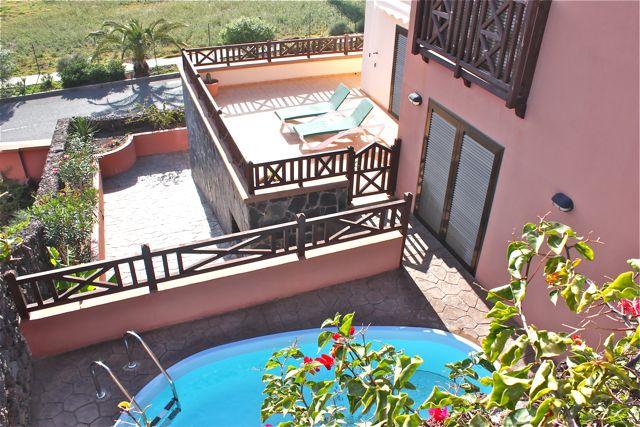 Luxus ferienhaus mit viel platz wlan pool bei jandia und morro jable fuerteventura - Kleiner pool terrasse ...