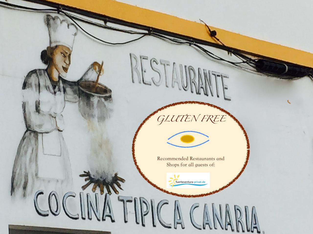 Glutenfreie, vegetarische oder vegane Restaurants auf Fuerteventura.