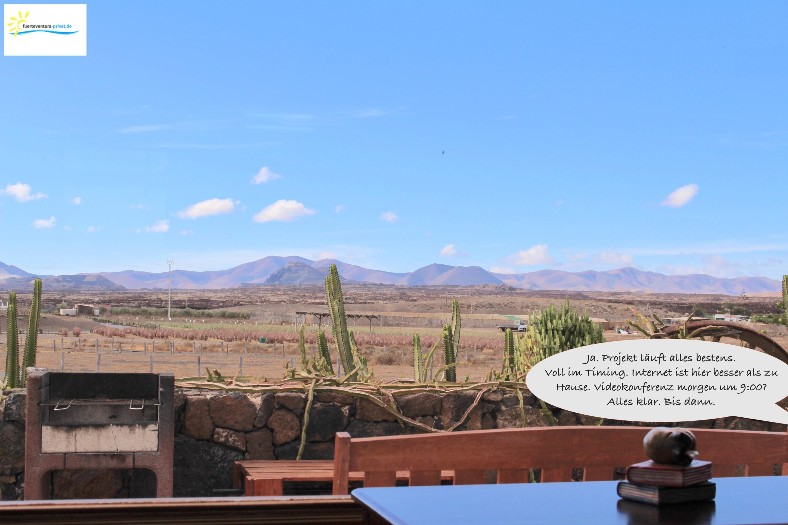 Home Office auf Fuerteventura?